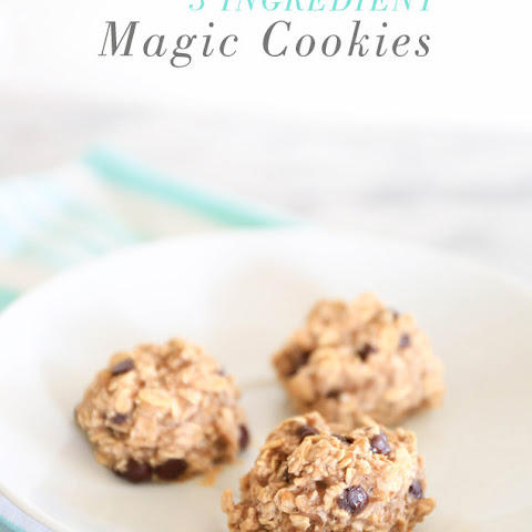 3 Ingredient Magic Cookies