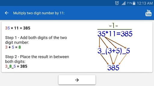 Math Tricks PRO screenshot 9