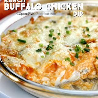 Ranch Buffalo Chicken Dip