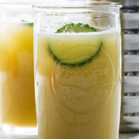 Cucumber Grapefruit Juice