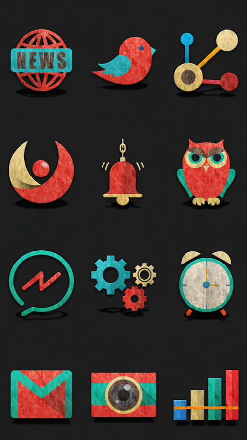 Retron-UI Icon Pack Screenshot 7