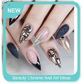 APK App Beauty Chrome Nail Art Ideas for BB, BlackBerry