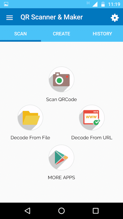 QR Scanner & Maker Pro Screenshot 2