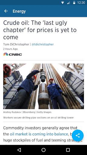 CNBC: Breaking Business News & Live Market Data screenshot 5