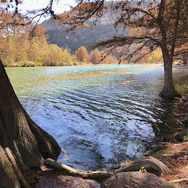 Frío river  by Roxana McRoberts - Instagram & Mobile iPhone ( landscape )
