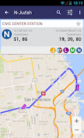 Screenshot of Quicky Transit