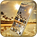 App Gold Coast luxury deluxe Theme apk for kindle fire