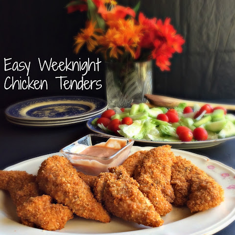 Easy Weeknight Chicken Tenders
