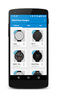 Watch Faces para Android Wear