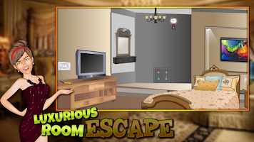 Screenshot of Luxurious Rooms Escape