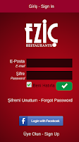 Screenshot of Eziç Mobile Sipariş
