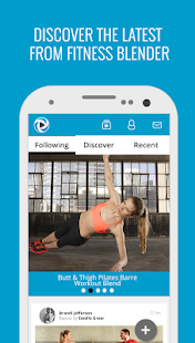 Fitness Blender Workouts Fitness app screenshot 1 for Android