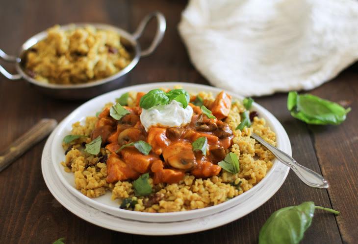 Chicken Mushroom Tikka Masala Recipe | Yummly