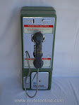 Single Slot Payphones - Ohil Bell Early Touch Tone loc E5