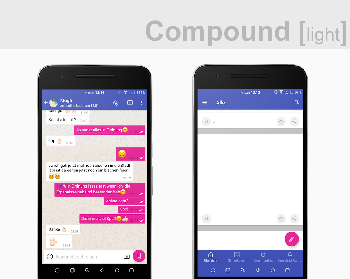 Compound [light] Substratum (Android Oreo/Nougat) Screenshot 5
