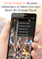 Screenshot of Orange Cloud