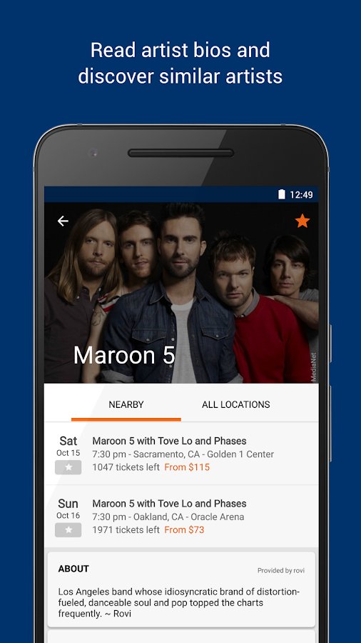 StubHub - Event tickets Screenshot 3