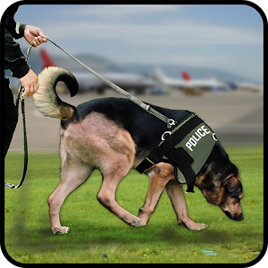 City Airport Police Dog Chase