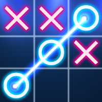 Tic Tac Toe Glow For PC (Windows And Mac)