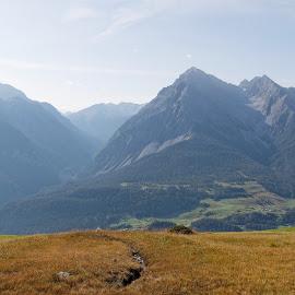 Ftan, Motta Naluns, Graubünden, Switzerland by Serguei Ouklonski - Landscapes Mountains & Hills ( mountain peak, mountain, outdoors, nature, hiking, landscape, scenics )