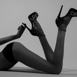 Legs For Days by Kevin Halterman - Nudes & Boudoir Boudoir ( sexy, panties, legs, heels, skin )