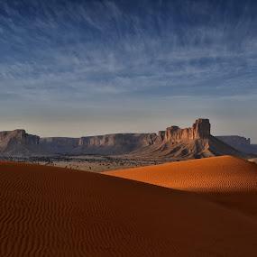 Redsand Desert by Arjay Jimenez - Landscapes Deserts