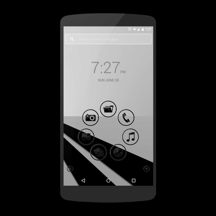 Black Glass Icons Screenshot 3