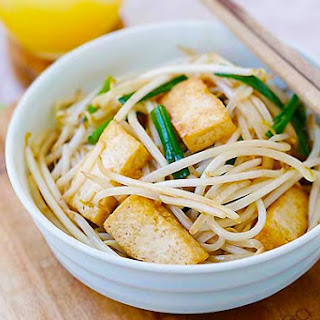 Bean Sprouts with Tofu