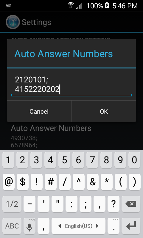 HandsFree Answer (Auto Answer) Screenshot 4