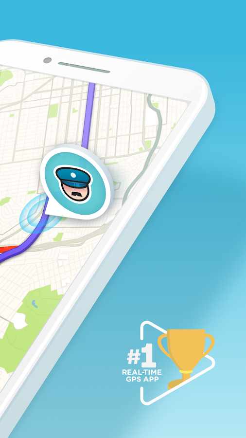 Waze - GPS, Maps, Traffic Alerts & Live Navigation Screenshot 1