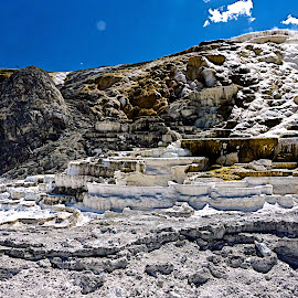 Mammoth Hot Springs terrace by Robert Remacle - Landscapes Travel (  )