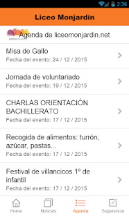 Liceo Monjardín - screenshot
