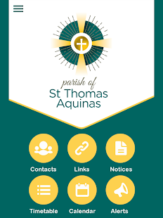 Parish of St Thomas Aquinas - screenshot
