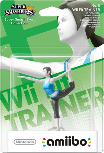 Wii Fit Trainer packaged (thumbnail) - Super Smash Bros. series