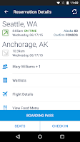 Screenshot of Alaska Airlines - Travel