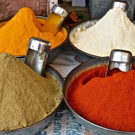 SPICES IN INDIA by Doug Hilson - Food & Drink Ingredients