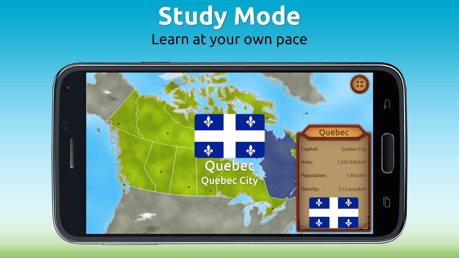 GeoExpert - Canada Geography Screenshot 2
