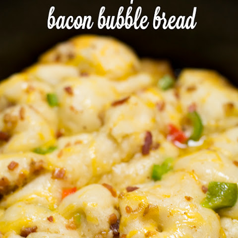Crock Pot Bacon Bubble Bread