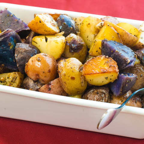 Rosemary Lemon Roasted Potatoes