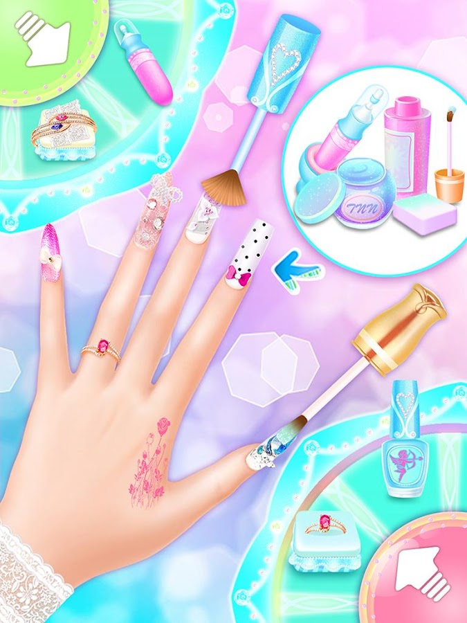 Wedding Nail Salon Game Screenshot