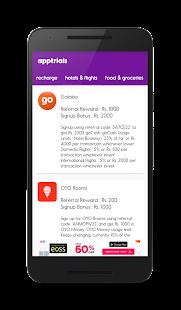 Free Mobile Recharge AppTrials APK for Ubuntu
