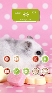 Candy pink mice topic - screenshot