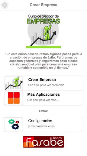 Curso de Creación de Empresas screenshot 1