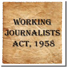 Working Journalists Act 1958