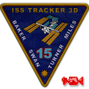 ISS Position Tracker 3D