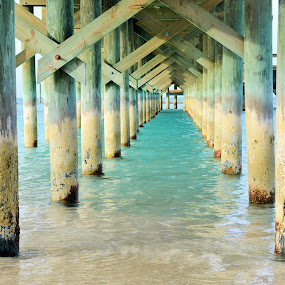 Cable Beach Abandoned Pier by Beth Bowman - Buildings & Architecture Bridges & Suspended Structures (  )