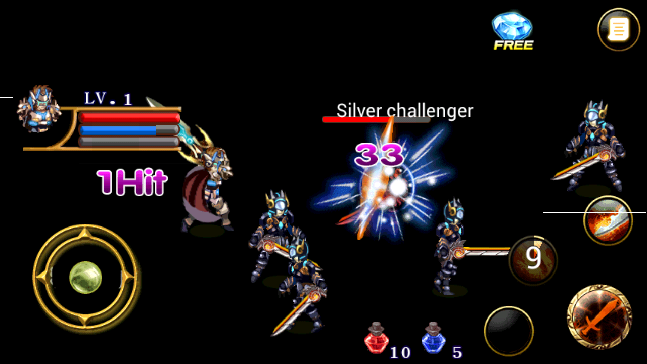 Lost Kingdom Dragon Knights Screenshot 3