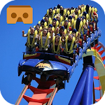 VR Roller coaster Ride Icon