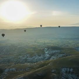 cappadocia by Haddouchi Tarik - Landscapes Prairies, Meadows & Fields ( sunrise, turkey, landscape, photography, cappadocia )