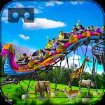 Safari Roller Coaster Ride VR Icon